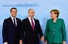 Bắt đầu Hội nghị thượng đỉnh Nga, Pháp, Đức và Thổ Nhĩ Kỳ bàn về Syria