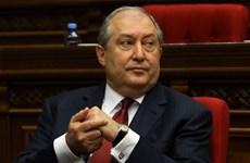 Tổng thống Armenia giải tán Quốc hội và ấn định thời điểm bầu cử