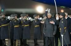 Chủ tịch Cuba thăm chính thức Nga, bàn về hợp tác chiến lược