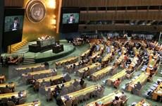 Đại hội đồng Liên hợp quốc kêu gọi bãi bỏ lệnh cấm vận Cuba