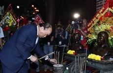 Thủ tướng Nguyễn Xuân Phúc dự Lễ kỷ niệm 50 Chiến thắng Truông Bồn