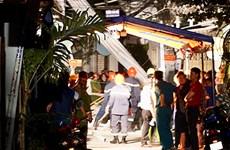 Thành phố Hồ Chí Minh: Sập giàn giáo khiến 2 người thương vong