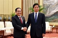 Tăng cường hợp tác giữa MTTQ Việt Nam với Chính Hiệp Trung Quốc