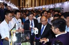 Thủ tướng dự Ngày hội khởi nghiệp đổi mới sáng tạo Việt Nam 2018