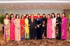 Chủ tịch Quốc hội gặp các gia đình đa văn hóa Việt Nam-Hàn Quốc