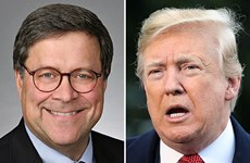 Tổng thống Trump đề cử ông William Barr làm Bộ trưởng Tư pháp Mỹ