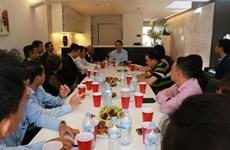 Đoàn Ủy ban Trung ương MTTQ Việt Nam gặp kiều bào tại Australia