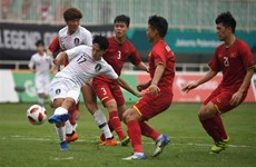 Đội tuyển Việt Nam và Hàn Quốc tranh cúp bóng đá liên khu vực