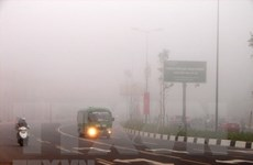 Bắc Bộ tiếp tục có sương mù vào buổi sáng, trưa chiều nắng hanh