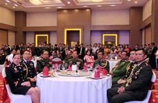 Kỷ niệm 74 năm Ngày thành lập Quân đội Nhân dân Việt Nam tại Lào