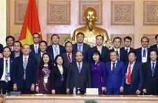 Thủ tướng gặp mặt các doanh nghiệp đạt thương hiệu quốc gia