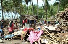 Sóng thần tại Indonesia: Người dân vùng thiên tai bắt đầu trở về nhà