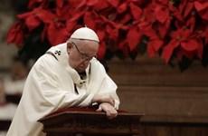 Giáng sinh 2018: Giáo hoàng cầu nguyện cho hòa bình thế giới