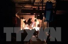 Hải Dương: Đã dập tắt đám cháy tại chợ đông Ngô Quyền
