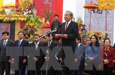 Phó Thủ tướng Trương Hòa Bình dự lễ cày tịch điền tại tỉnh Hà Nam