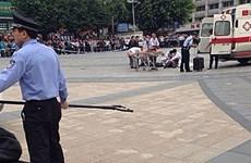 Tấn công bằng dao tại Trung Quốc, nhiều người bị thương