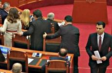 EU chỉ trích các nghị sĩ đối lập Albania đồng loạt từ chức