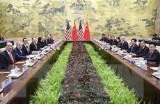 Mỹ và Trung Quốc tiếp tục vòng đàm phán thương mại thứ 7