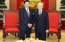 Báo chí Lào đánh giá cao chuyến thăm của Tổng Bí thư, Chủ tịch nước