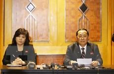 [Video] Chi tiết cuộc họp báo bất ngờ của phái đoàn Triều Tiên