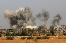 Liên quân quốc tế không kích tiêu diệt 8 phần tử IS tại Iraq