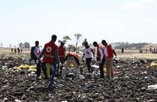[Video] Cận cảnh hiện trường vụ tai nạn máy bay ở Ethiopia