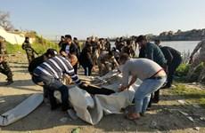 Gần 100 người thiệt mạng trong vụ chìm phà ở Bắc Iraq