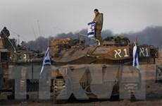 Quân đội Israel điều thêm lực lượng mới đến sát Dải Gaza
