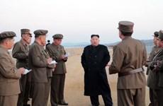 Chủ tịch Triều Tiên Kim Jong-un chủ trì hội nghị sỹ quan quân đội
