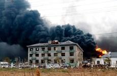Trung Quốc tiến hành kiểm tra an toàn cháy nổ trên cả nước
