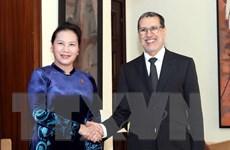 Chủ tịch Quốc hội Nguyễn Thị Kim Ngân hội kiến Thủ tướng Maroc