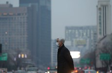 Mật độ bụi mịn ở thủ đô Seoul của Hàn Quốc chạm ngưỡng kỷ lục