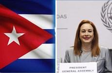 Lãnh đạo Cuba tiếp người đứng đầu Đại Hội đồng Liên hợp quốc