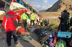 Tai nạn xe buýt nghiêm trọng tại Bolivia, gần 40 người thương vong