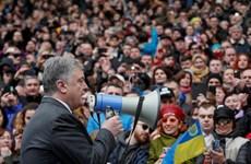 Bầu cử Ukraine vòng hai: Tổng thống chấp nhận điều kiện tranh luận