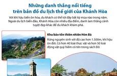 [Infographics] Những danh thắng nổi tiếng của Khánh Hòa