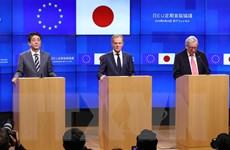 EU - Nhật Bản thúc đẩy cải cách WTO và đẩy lùi chủ nghĩa bảo hộ