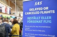 Hãng hàng không SAS tiếp tục hủy thêm 1.200 chuyến bay do đình công