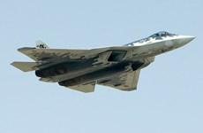 [Video] Chuyên cơ Tổng thống Nga được máy bay Sukhoi Su-57 hộ tống