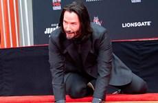 [Video] Ngôi sao Keanu Reeves của ''John Wick 3'' được vinh danh