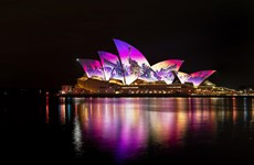 Australia khai trương lễ hội âm nhạc và ánh sáng lớn nhất thế giới