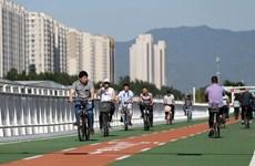 Bắc Kinh khánh thành con đường đầu tiên chỉ dành cho xe đạp
