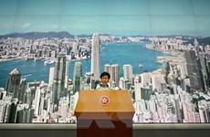 Chính quyền Hong Kong đình chỉ việc sửa đổi dự luật dẫn độ