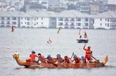 [Video] Lễ hội bơi chải thuyền rồng Hà Nội quảng bá du lịch thủ đô