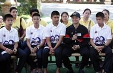 Đội bóng nhí Lợn rừng kỷ niệm 1 năm bị kẹt trong hang sâu Tham Luang