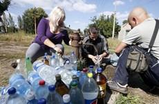 UNICEF: Xung đột tại Đông Ukraine khiến nhiều người không có nước sạch