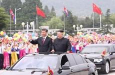 Phái đoàn quan chức cấp cao Triều Tiên khởi hành đến Trung Quốc