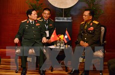 Hợp tác quốc phòng Việt Nam-Lào là một trong những trụ cột quan trọng