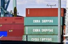 'Thương chiến' tác động tiêu cực tới ngoại thương của Trung Quốc
