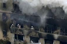 [Video] Hiện trường vụ cháy xưởng phim Kyoto Animation tại Nhật Bản